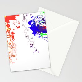 Rainbow Spurt 03 Stationery Cards