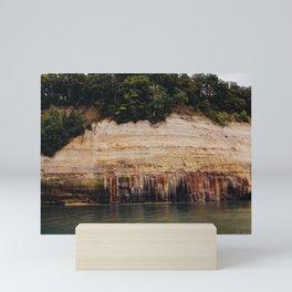 Pictured Rocks III Mini Art Print