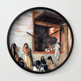 The Slave Market - Digital Remastered Edition Wall Clock