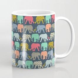 baby elephants and flamingos Coffee Mug