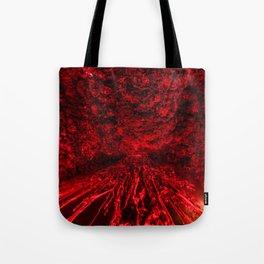 Volcanic eruption Tote Bag