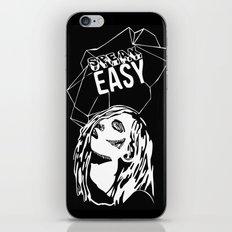 Speak Easy iPhone & iPod Skin