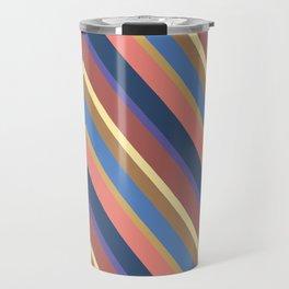 A different geometric zigzag pattern Travel Mug