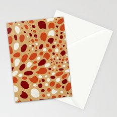 Mosaic Dots: Coral Island Stationery Cards