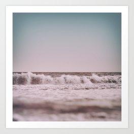 Ocean Breathes Salty Art Print