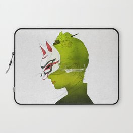 Fox Mask _side face Laptop Sleeve