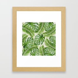 I Need a Tropical Vacation Print Framed Art Print