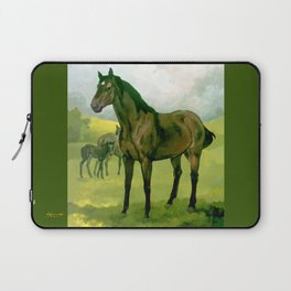 Sound Reason (CAN) - Thoroughbred Stallion Laptop Sleeve