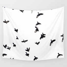 Birds in Flight Wall Tapestry