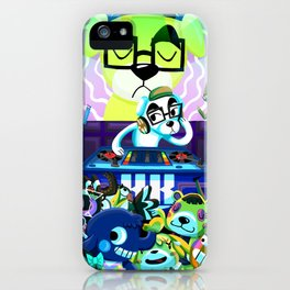Animal Crossing DJ KK Slider iPhone Case