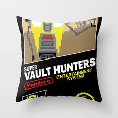 Super Vault Hunters Throw Pillow