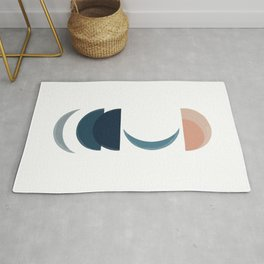 Moon Painted Times Rug