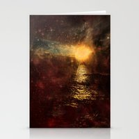 italian Stationery Cards featuring Italian Sunset  by Brianna Clare