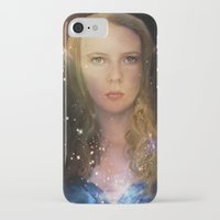 tina fey iPhone & iPod Cases featuring Fey Profile by Naomi Shingler