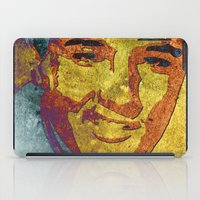 elvis presley iPad Cases featuring Elvis Presley by Pedro Nogueira