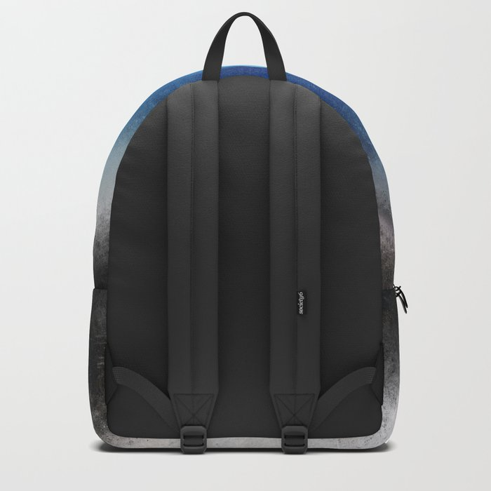Blue Eye Abstract Backpack
