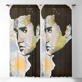 Elvis «Love Song» Blackout Curtain