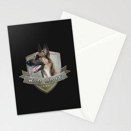 K9 Unit  - Malinois Stationery Cards