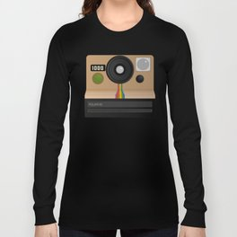Vintage two step camera (instant photo) Long Sleeve T-shirt
