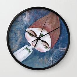 Courage-Bhoomie Wall Clock