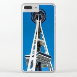 Space Needle Clear iPhone Case