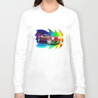 ferrari Long Sleeve T-shirts featuring Ferrari by JT Digital Art