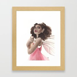 All Booked Up Framed Art Print