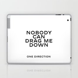 One direction quote Quote Print Living Room Decor Valentine's Poster ONE DIRECTION ART Laptop & iPad Skin