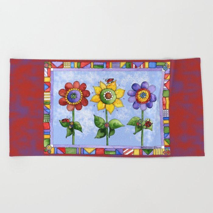 The Three Amigos III Beach Towel