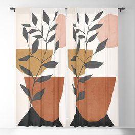 Branch and Elements Blackout Curtain