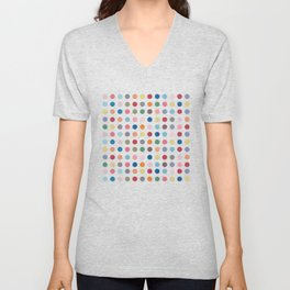 Polka Dots - Color Love Unisex V-Neck