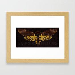 Hannibal Death's-head Hawkmoth  Framed Art Print