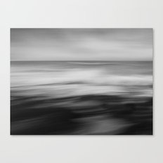 The waves dance Canvas Print