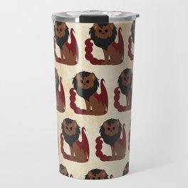 Manticore Pattern Travel Mug
