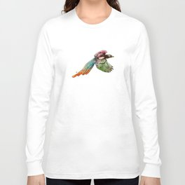Colorful Bird Long Sleeve T-shirt