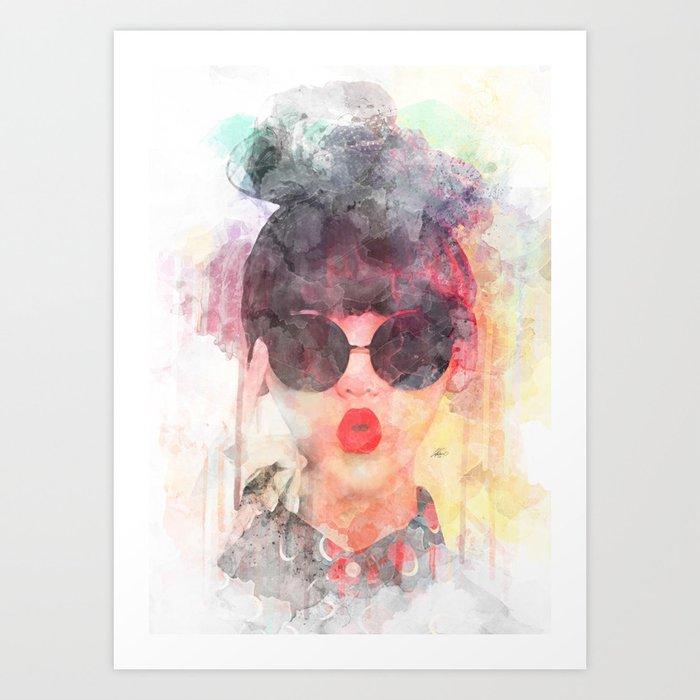 Wow G Art Print