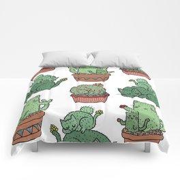 Cactus Cats Comforters