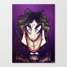 Joker. Canvas Print