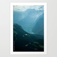 Eagle's Nest / Berchtesgaden, Germany Art Print