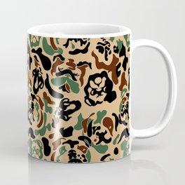 English Bulldog Camouflage Coffee Mug