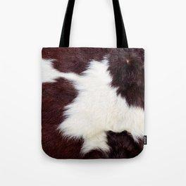Cowhide Fur Tote Bag