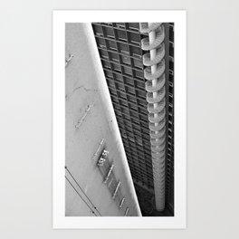 Sau Paulo Stair Art Print