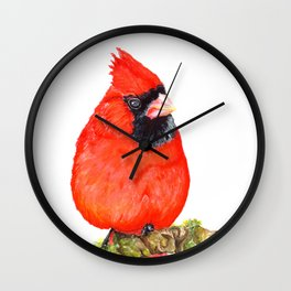 Mr Cardinal Wall Clock