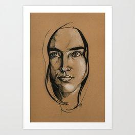 Jennifer Connelly Art Print