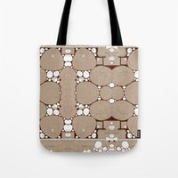 blueprint Tote Bags featuring Rock Blueprint by Finn Wild