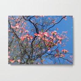 Cheery Blooms Metal Print