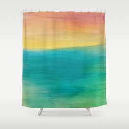 Ocean Sunset Series, 3 Shower Curtain