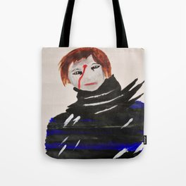 Shades of Red Tote Bag