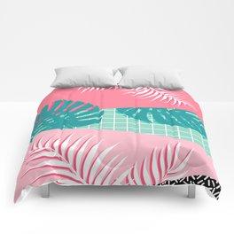 Palm Springs #society6 #decor #buyart Comforters
