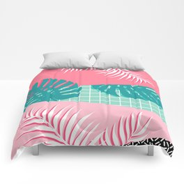 Palm Springs #society6 #decor #buyart Comforters